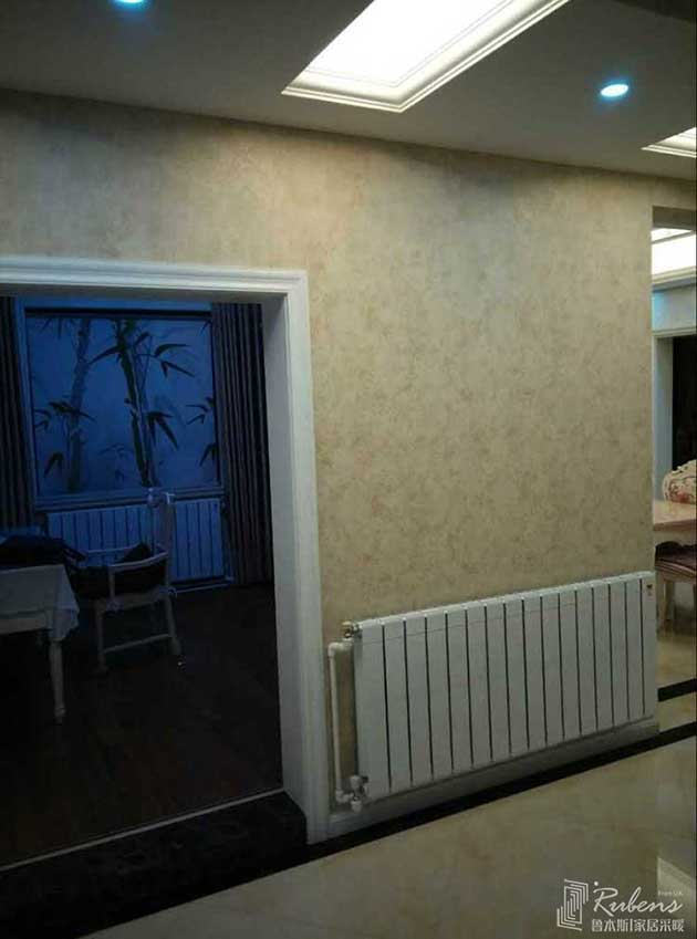 精装房客厅卧室暖气片安装效果图