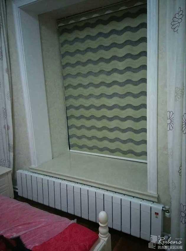 精装房客厅卧室暖气片安装效果图图片